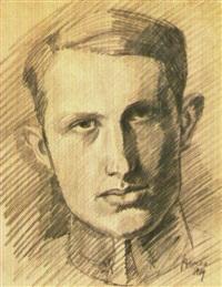 arpad-szenes-portrait-de-karl-hans-strauss