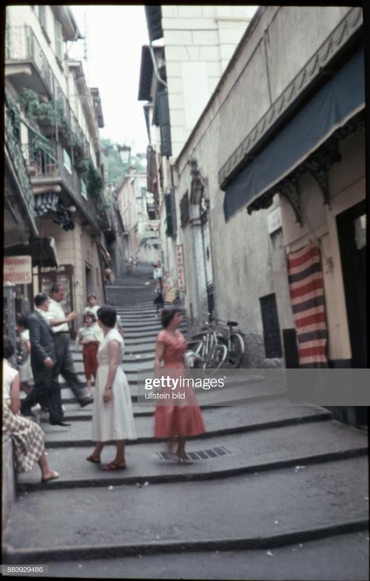 (GERMANY OUT) Schweiz, Aufnahme ca. 1960, Ascona (Photo by Leberullstein bild via Getty Images)