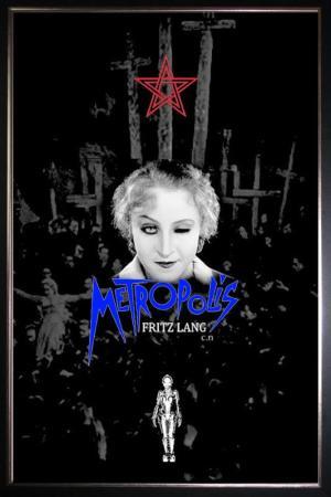 metropolis-sci-fi-movie-silk-poster-brigitte-helm