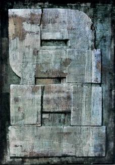 Matri Dei d.d.d., 1978, Tecnica mista su masonite, 42 x 30 cm