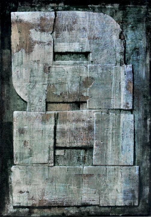 8_Luigi Pericle, Matri Dei d.d.d., 1978, Tecnica mista su masonite, 42 x 30 cm