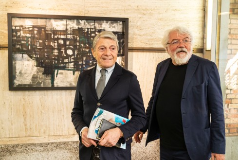 Luigi Pericle Beyond The Visible Fondazione Querini Stampalia Vernissage 11 05 2019
