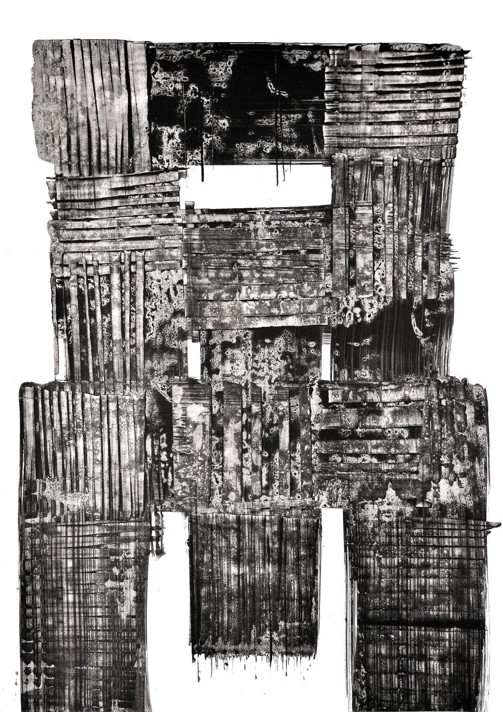 Luigi Pericle, Matri Dei d.d.d., 1964, China su carta, 600 x 420 mm