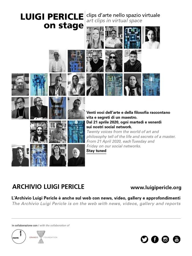 Luigi Pericle on stage